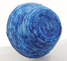 Small Brilliantly Blue Bowl by PiecefulDesign on Etsy, $7.00