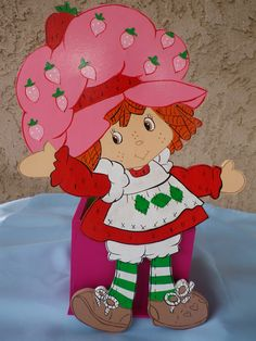 strawberry shortcake centerpieces. $15.00, via Etsy.