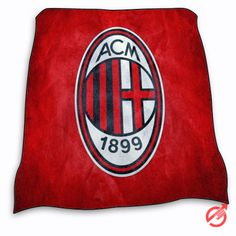 AC Milan red Blanket cheap and best quality. *100% money back guarantee