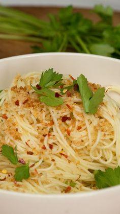 Caesar Angel Hair Pasta ~ Recipe | Tastemade