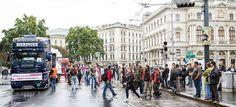 Streetparade in Vienna Street View