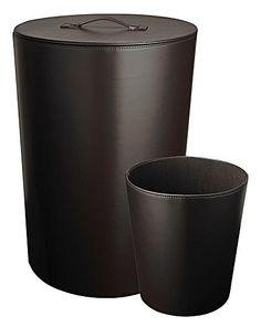 Round Laundry Bin with Round Waste Bin