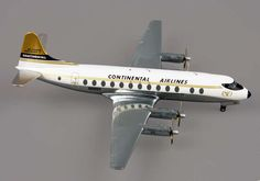 HERPA WINGS 1/200 CONTINENTAL VISCOUNT 800! MINT! 554398
