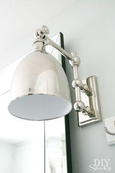 DIYShowOff bathroom lighting from LampsPlus
