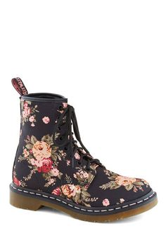 Floral Doc Martens.  They're back, and I need them all over again, just like I did when I was 13.