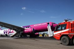 Wizz Air Airbus A320-200. 3 injuries due to evacuation.