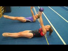 Conditioning videos by Mary Lee Tracy...if you're bored with your own workout!