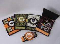 matchbook halloween treat cards