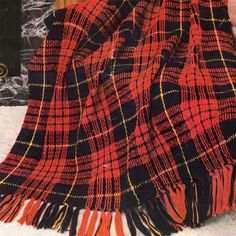 Burberry Plaid throw, free pattern by Faythe Saxton ...