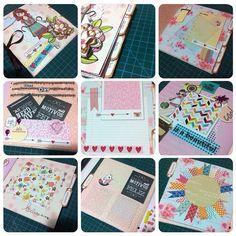 Mini álbum - mês a mês #minialbum # scrapbook #monthly