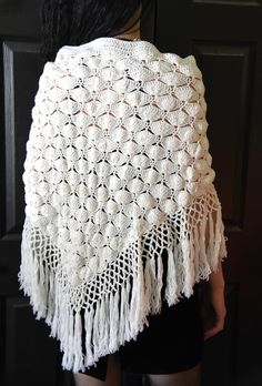 All items sold as is vintage. Any flaws will be noted. Magic Secrets, White Shawl, Stevie Nicks, Vintage Crochet, Shawls, 1970s, All Things, Buy And Sell, Blanket