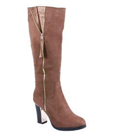 Brown Paris Boot