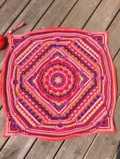 Sophie Universe deel 13 Mandala, Blanket, Rugs, Crochet, Home Decor, Universe, Garten, Crochet Hooks, Homemade Home Decor
