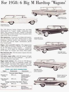 1958 Mercury Wagon | The Big M - J8 code