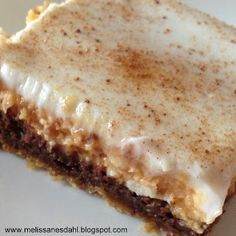 Fill My Cup: Pumpkin Chocolate Cheesecake Bars