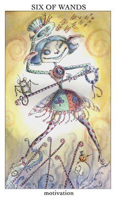 Đọc Lá 6 of Wands - Joie de Vivre Tarot bài tarot Xem thêm tại http://tarot.vn/la-6-of-wands-joie-de-vivre-tarot/