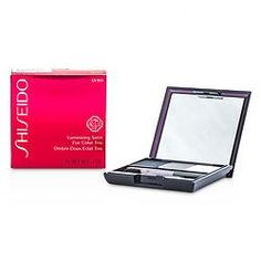 SHISEIDO by Shiseido - Luminizing Satin Eye Color Trio - # GY901 Snow Shadow --3g/0.1oz