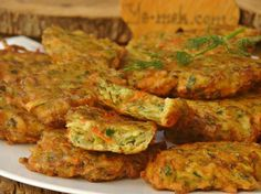Crispy on the outside, light and soft on the inside—that special combo is what makes KOLOKITHOKEFTEDES one of the more unique ways to utilize zucchini. Greek Recipes, Indian Food Recipes, Ethnic Recipes, Indian Foods, Greek Dishes, Side Dishes, Macedonian Food, Zucchini Fritters, Baked Fish