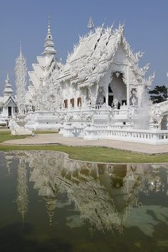 The white temple, Chiang Mai, Thailand