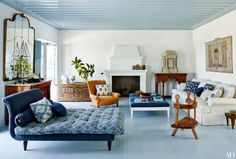 Family compound that Isabel López-Quesada designed with architect Nikos Moustroufis | AD via habituallychic