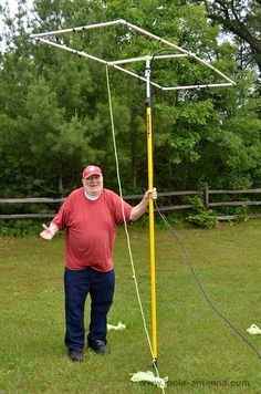 6-meter-Moxon-antenna-al-painter-pole