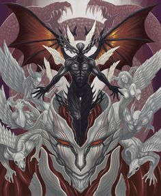 "Darkness Nigth ""Father of all Evil"", ""Lord of Evil"" (true form)."