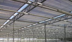 Horizontal Screens | Bridge Greenhouses Two types of operating system are available for horizontal roof screens. The Push-Pull system using rack & pinions, or the Pullwire system using torque tubes. Both systems can be used for single, double or even triple screen installations. With high energy costs, and critical control of the growing environment required, growers are increasingly installing double screens; one energy screen, and the other a shade screen. Shade Screen, High Energy, Operating System, Glass House, Greenhouses, Screens, Bridge, Environment, House Of Glass