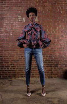 NEW The Naomi African Print 100% Holland Wax door DemestiksNewYork