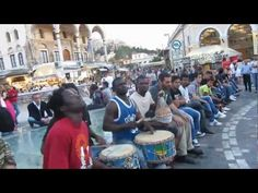 African Heritage- an Athens based group from Sierra Leone.