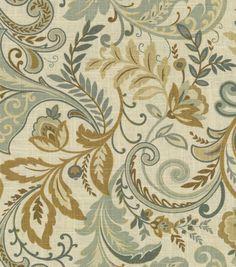 Home Decor Print Fabric-SMC Designs Findlay Seaglass