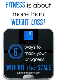 Tracking your Fitness Progress without the Scale - Sublime Reflection