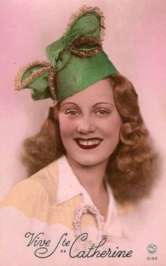 Image Halloween, Image Nature, Art Populaire, Images Vintage, Old Postcards, Vintage Photography, St Patrick, Vintage Ladies, Decoupage