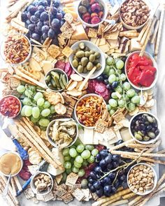 """I'm on earth to make cheese boards. Baby Shower Appetizers, Antipasto Platter, Grazing Tables, Charcuterie Board, Yummy Appetizers, Pasta Salad, Party Time, Buffet, Cheese Boards"