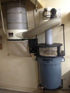 Thien Top Hat dust collector separator, Thein baffle, and 3 station manifold - by mbs @ LumberJocks.com ~ woodworking community
