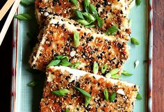 24. Sesame-Crusted Tofu With Nuoc Cham - Spice it up!