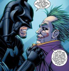 Batman es experto en el uso de técnicas de interrogatorio, el empleo de cualquier cosa, desde los métodos de aplicación de la ley a la tortura absoluta.