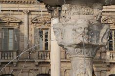 Magical fountains in Verona