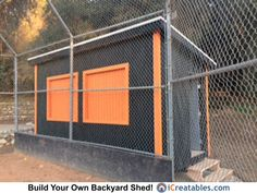 We provide free shed plans for Boy Scout Eagle Scout Projects! Check out some of these amazing service projects!