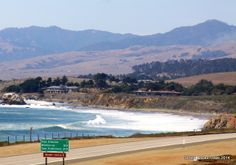 San Simeon is only 5 miles from the city of Cambria, a quiet side community along California's central coast.