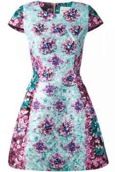 Mary Katrantzou flower print dress, £1300