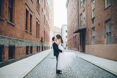 This is GORGEOUS - Tribeca Rooftop wedding in New York City, NY, captured by NY wedding photographer Ben Lau.