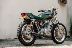 Blank Check: Bill Becker builds the ultimate custom Yamaha XS 650.  Visit us at www.motobriiz.com