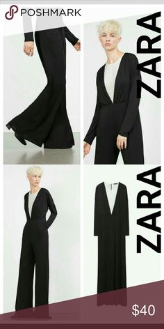Zara jumpsuit. Brand new with tag , never had the chance to wear it .. Zara Pants Jumpsuits & Rompers