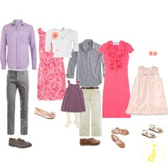 what to wear for family pictures spring