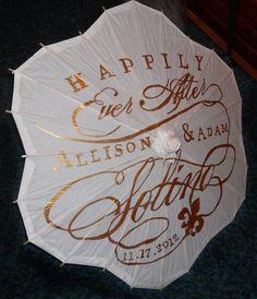 Personalized Second Line Umbrella