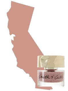 The Most Popular Nail Polish Color in California: Rose Gold -   Smith & Cult nail polish in Vegas Post Apocalyptic   allure.com