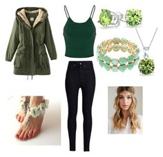 """""""Earth Bender"""" by brizymc on Polyvore"""