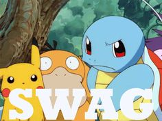 Considering the fact that Ash's squirtle is an ex-gang leader this is great.