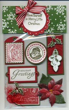 Christmas Card Candy