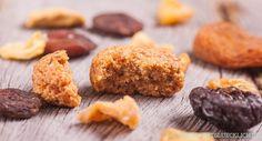 Gesunde Plätzchen mit Vollkorn und vielen leckeren Trockenfrüchten, dafür ohne raffinierten Zucker und Weißmehl - so gut können Vollwertkekse schmecken!